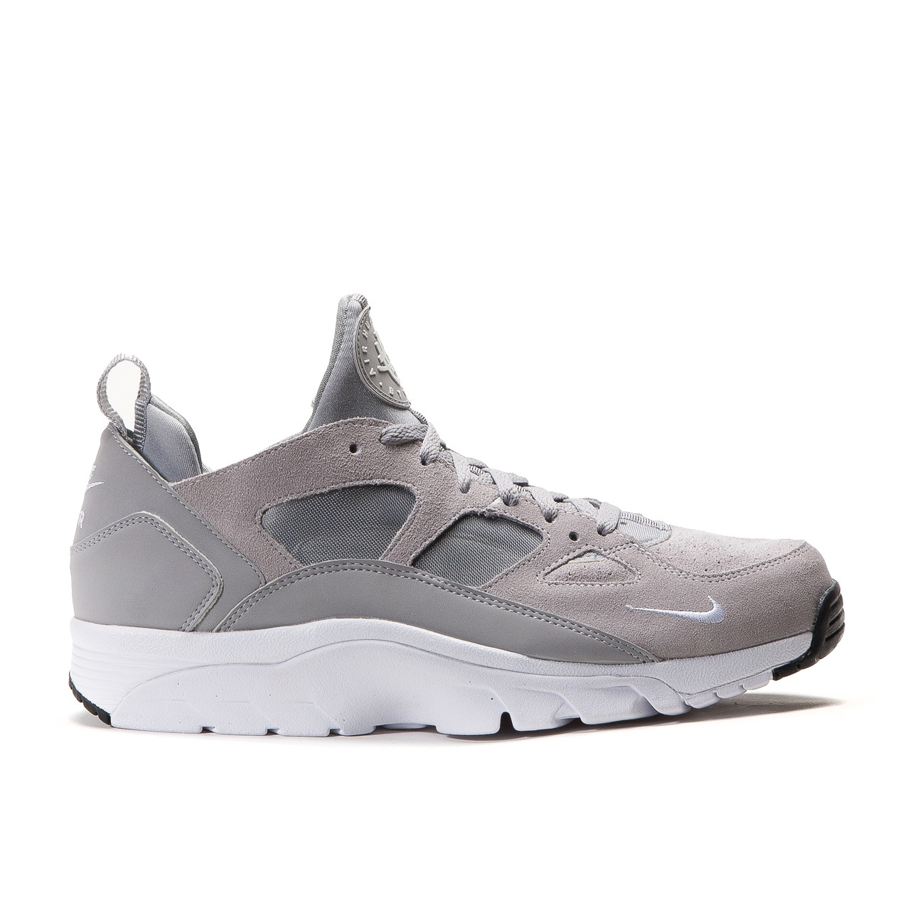 nike air trainer huarache low wolf grey. Black Bedroom Furniture Sets. Home Design Ideas