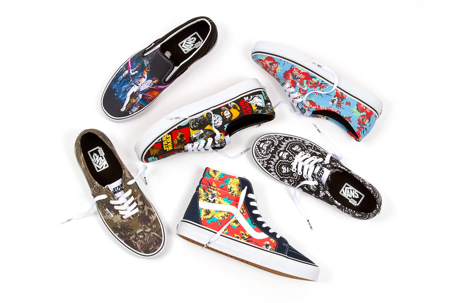 94b1fc20b1 Vans x Star Wars Collection
