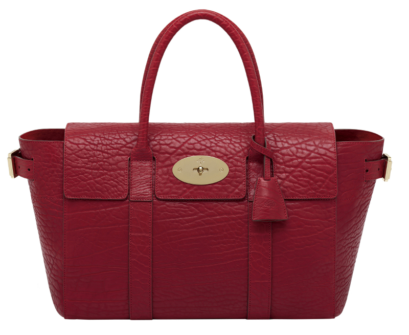 Bayswater Buckle Shrunken Calf Poppy Red_small