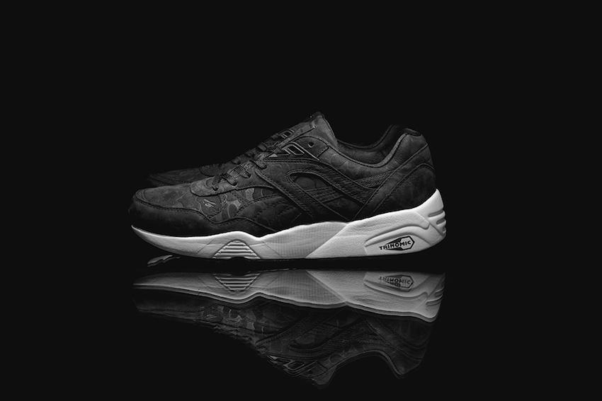 Puma x BAPE R698 (Black) 1