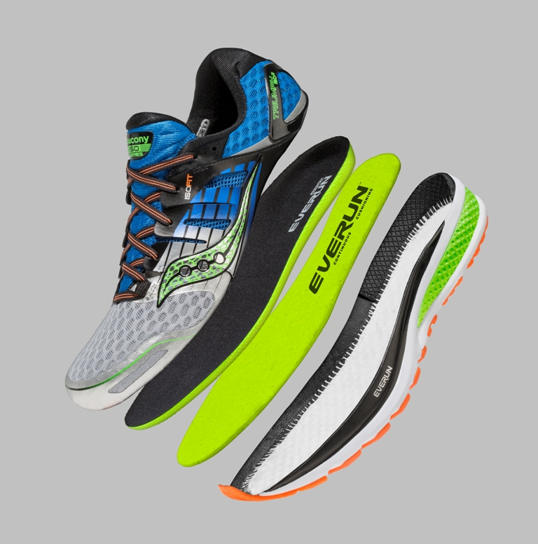 reputable site b8b0e a1e42 Saucony EVERUN Technology and Series of Running Shoes