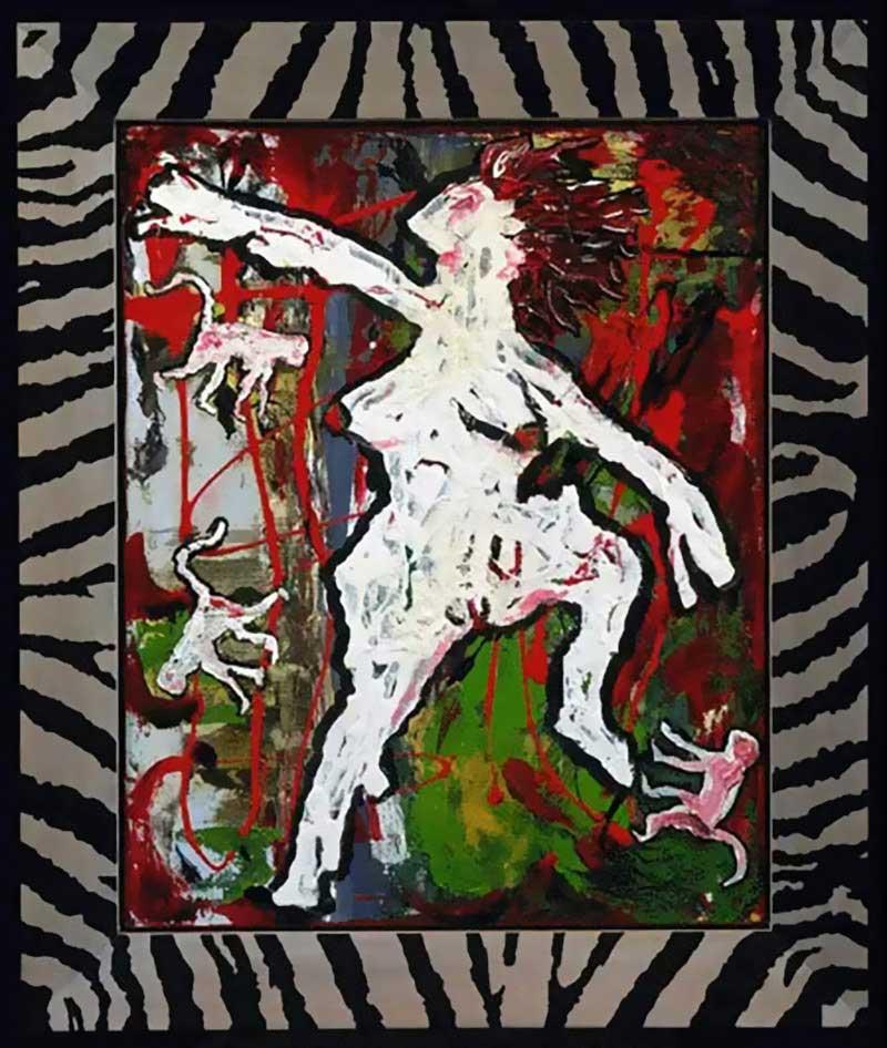 David-Bowie-paintings-Ancestor-II